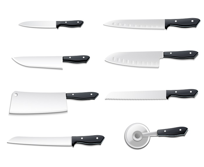 Knives Blade Type